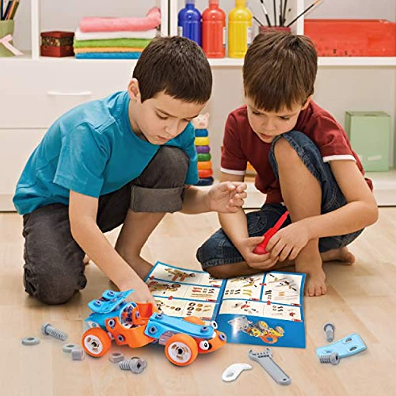 132 PCS STEM Learning Toys - Education Engineering and DIY ...