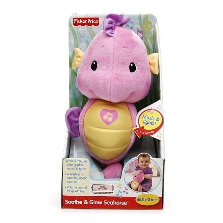 Fisher Price Soothe and Glow Seahorse, Pink
