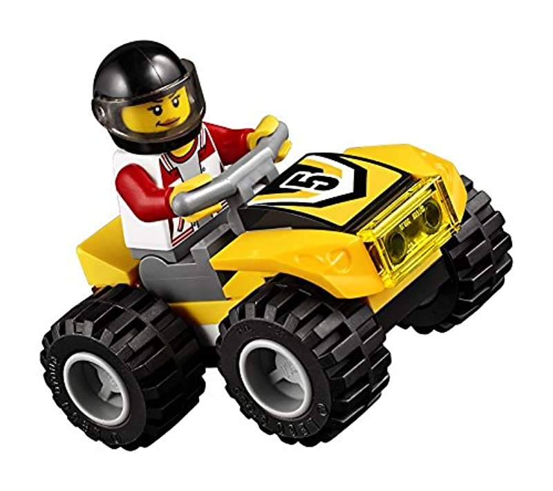 LEGO City ATV Race Team 60148 Building Kit with Toy Truck ...