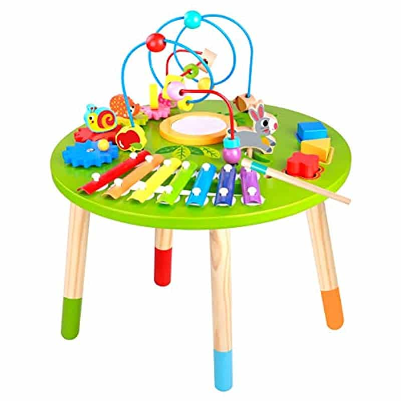 Wooden Activity Table for Toddlers | Multi-Purpose ...